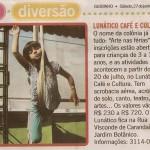 Espaço Lunatico: cursos de acrobacia aérea, aulas de circo, ballet infantil, musicalização e teatro para crianças. Colônia de Férias 2016